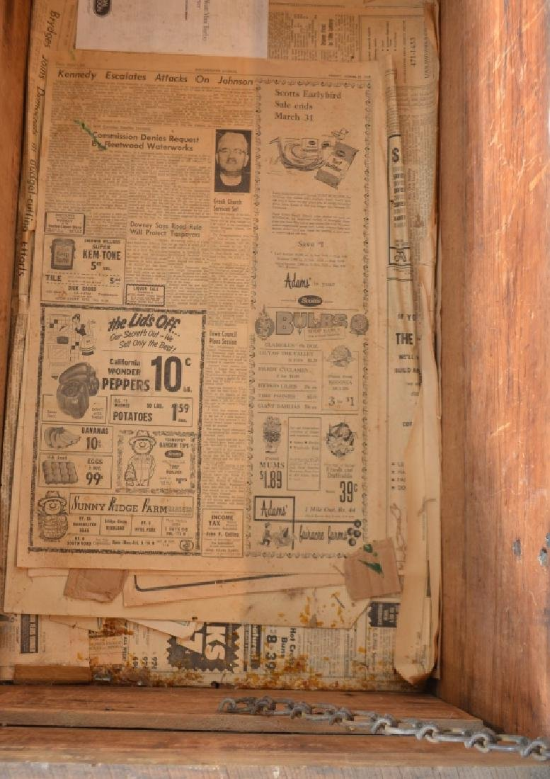 Large Vintage Storage Box - 7