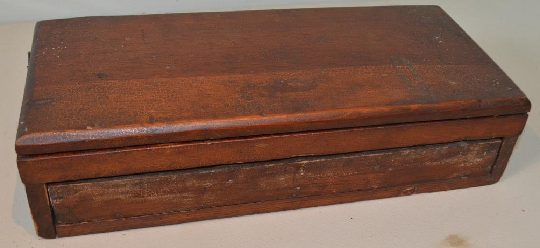 Antique Drafting Box With Tools - 4