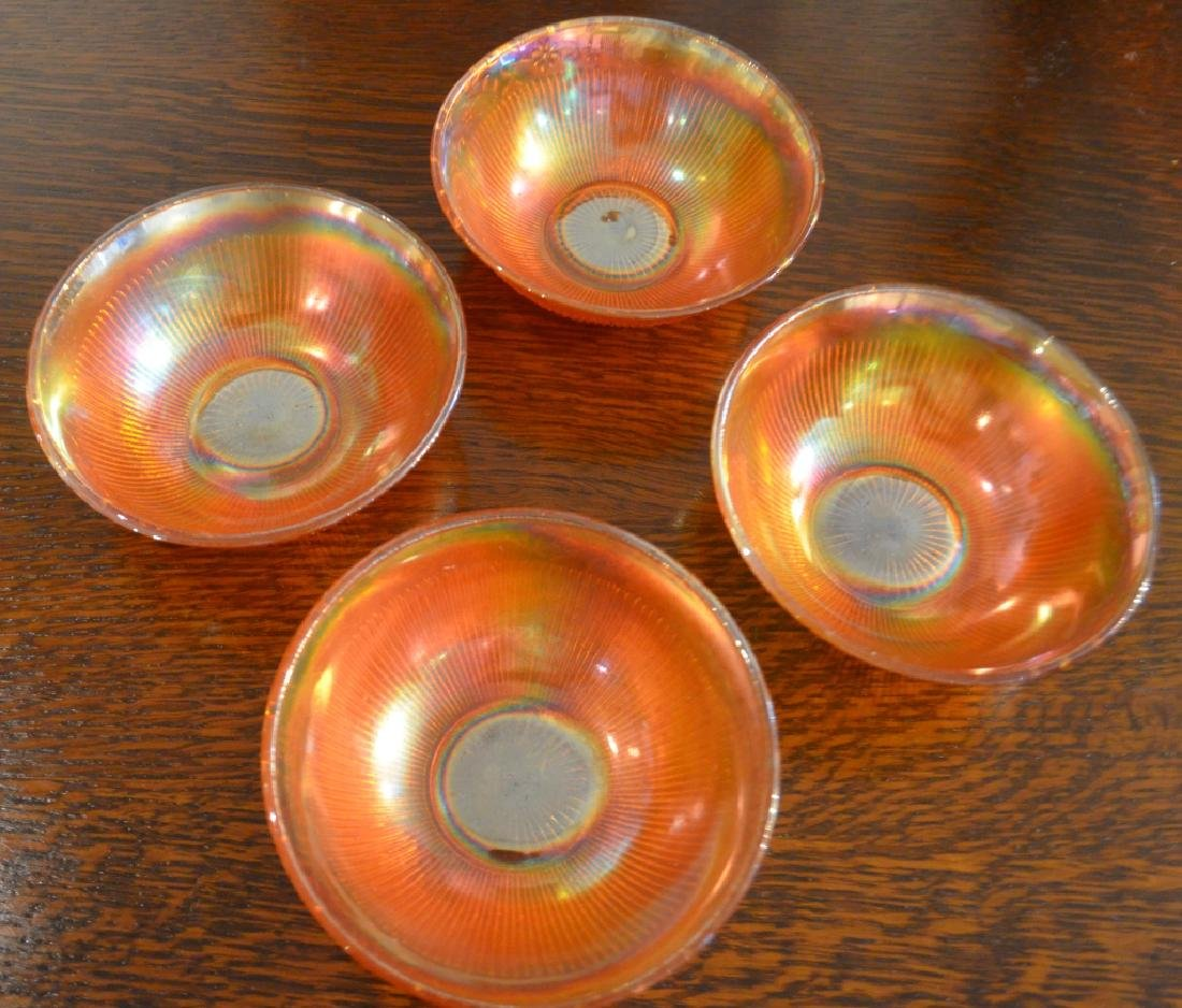 Lot of  Carnival Glass Bowls and Vases