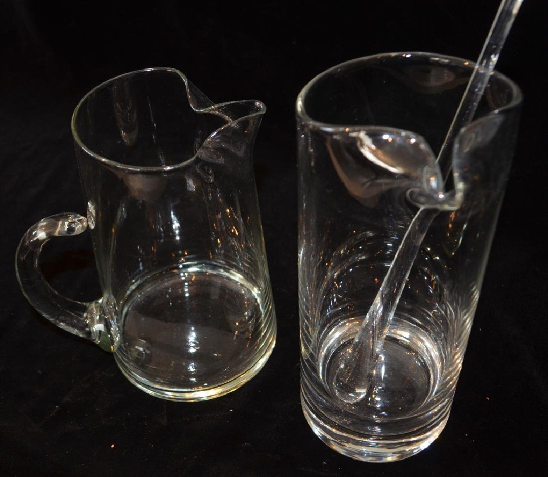 Glass Cocktail Server and Pitcher - 3