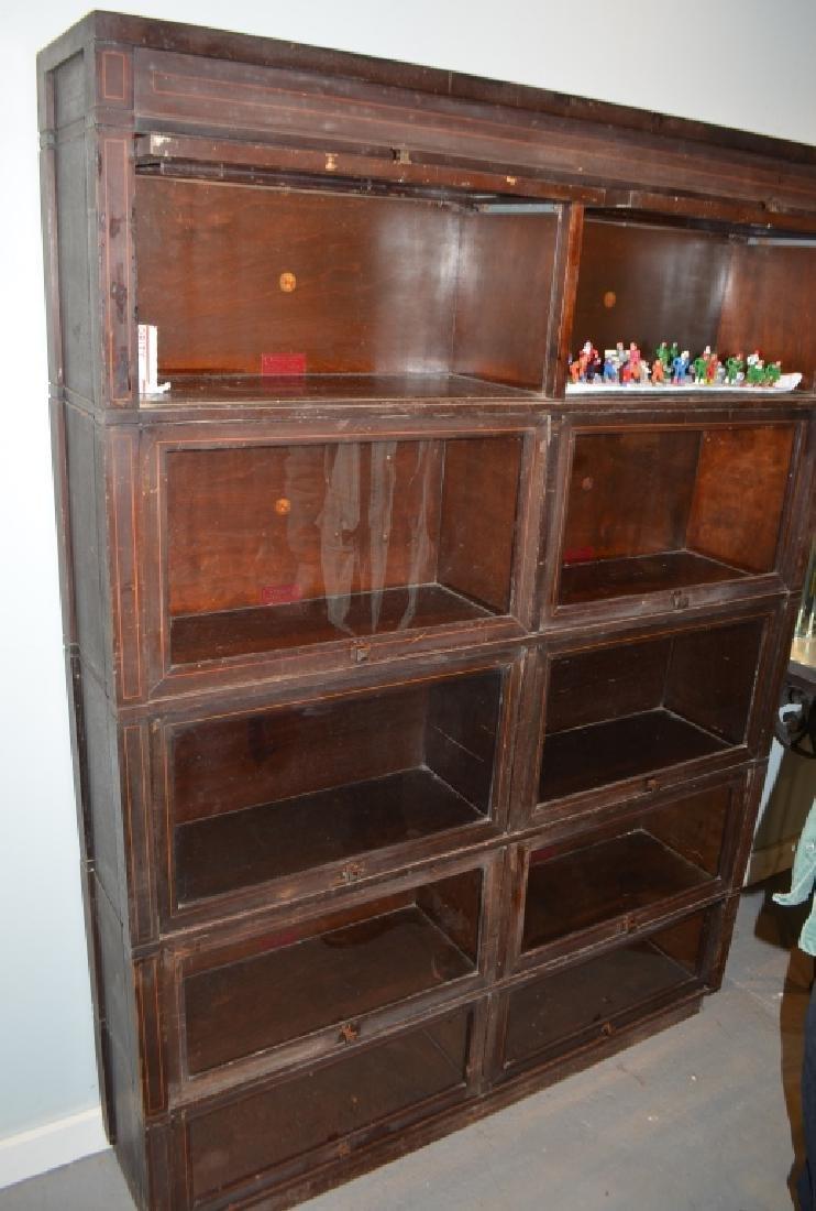 Antique Globe Wernicke Barrister Bookcases - 2