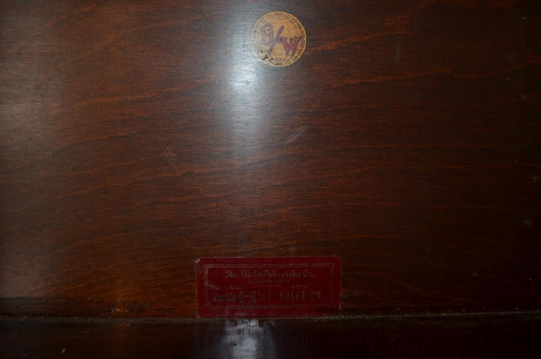 Antique Globe Wernicke Barrister Bookcases - 3