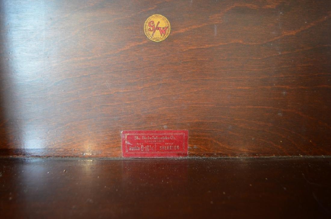 Antique Globe Wernicke Barrister Bookcases - 4