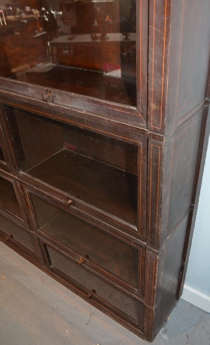 Antique Globe Wernicke Barrister Bookcases - 6