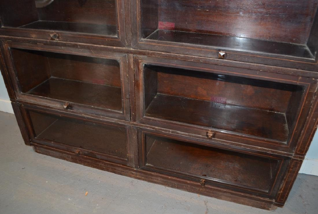 Antique Globe Wernicke Barrister Bookcases - 7