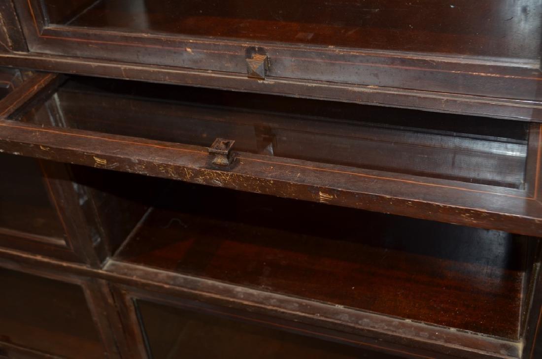 Antique Globe Wernicke Barrister Bookcases - 8