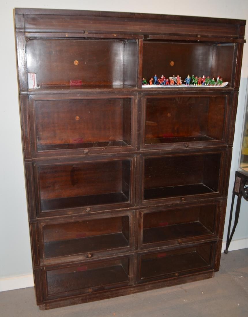 Antique Globe Wernicke Barrister Bookcases - 9