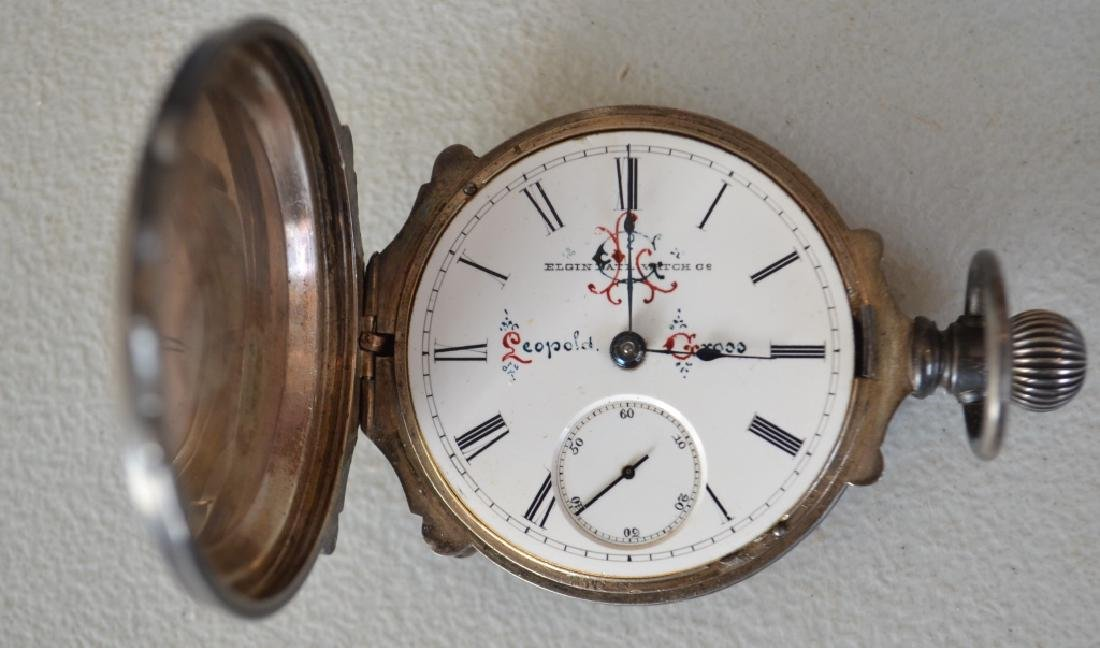 Late 1800s Elgin Natl Watch Co. Pocket Watch