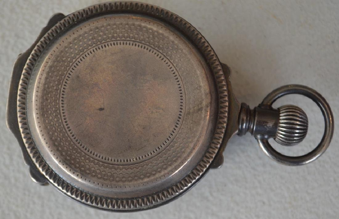 Late 1800s Elgin Natl Watch Co. Pocket Watch - 3