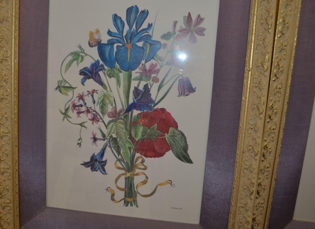 Pair of Botanical Engravings Nicholas Robert - 5