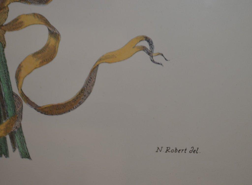 Pair of Botanical Engravings Nicholas Robert - 6