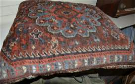 Persian Rug Remnant Pillow