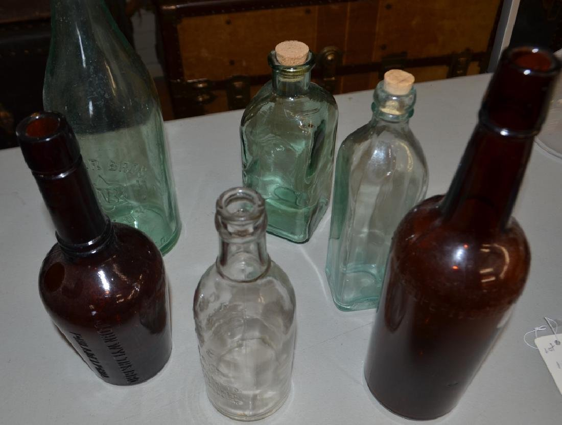 Lot of 6 Collectible Vintage Bottles