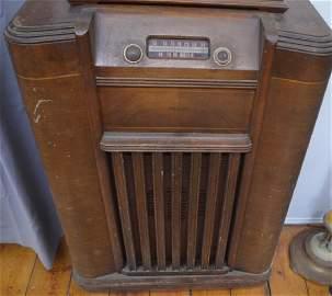Philco Model A-361 Console Radio 1942 Working