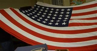Large 48 Star Flag World War 2