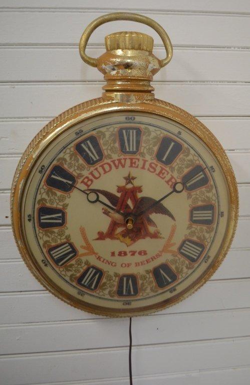 1957 Budweiser Clock