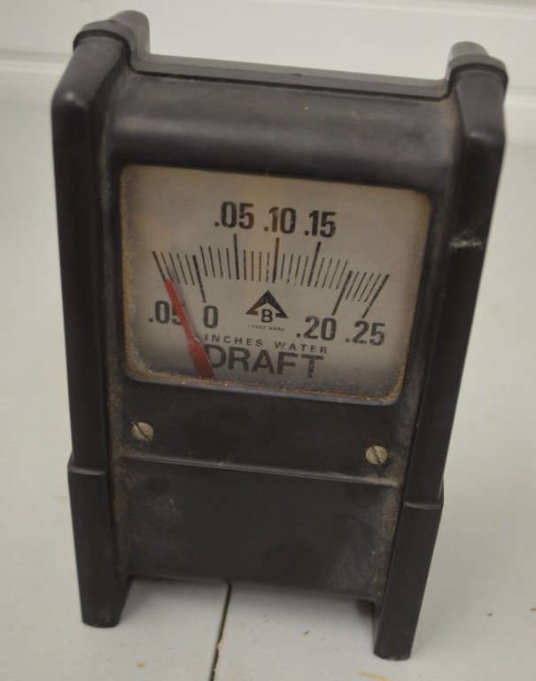 1940s B Chimney Draft Indicator