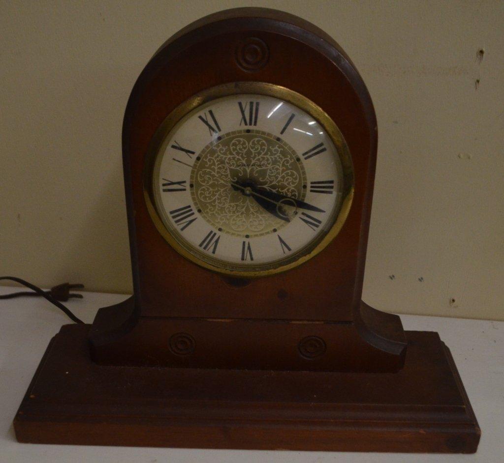 Lanshire Self Starting Mantle Clock