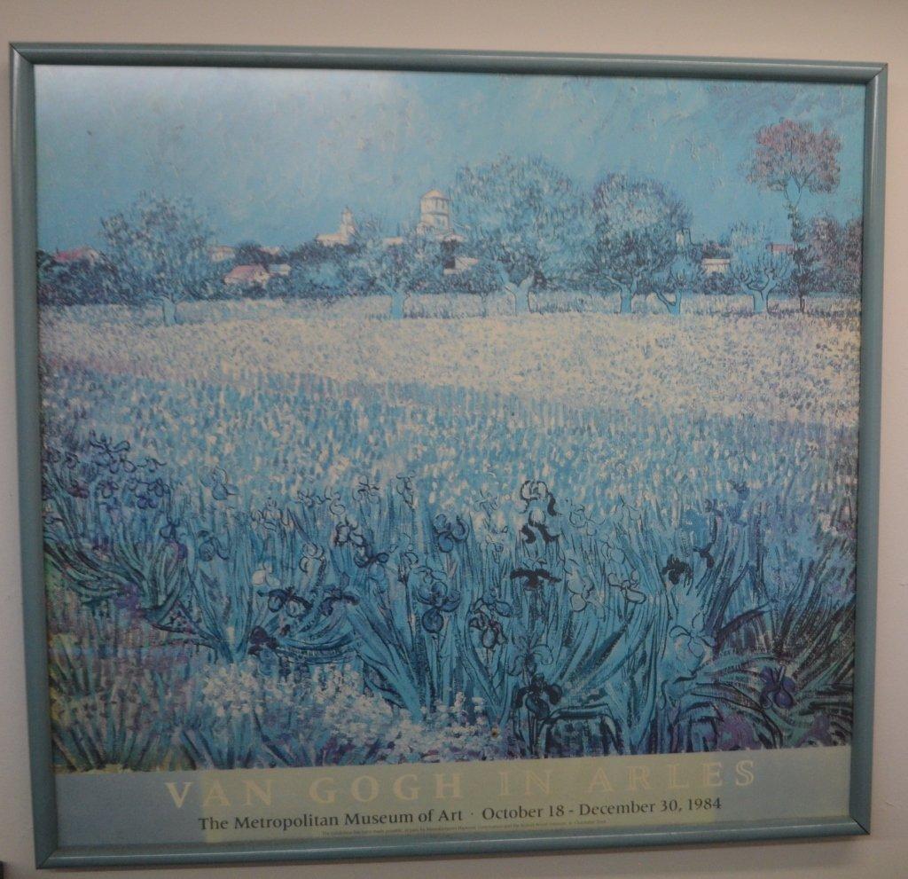 Van Gogh In Arles MOMA Print 1984