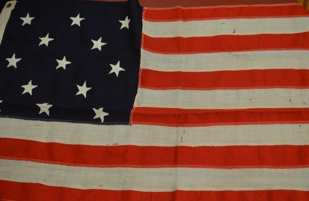 Nautical U.S. 13 Star Flag