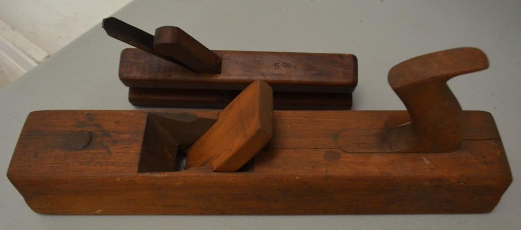 Lot of Three  Antique Wood Planes