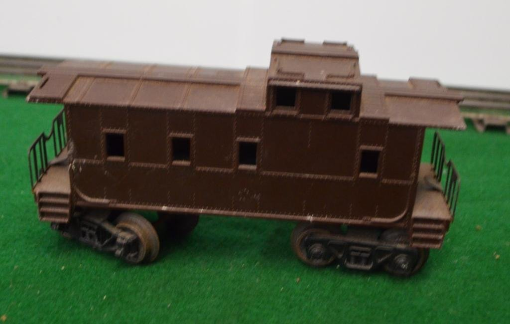 Lionel Unmarked Caboose Car Brown