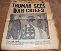 Complete NY Daily Newspaper April 14, 1945