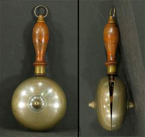 19th Century Muffin Fire Rattle Bell