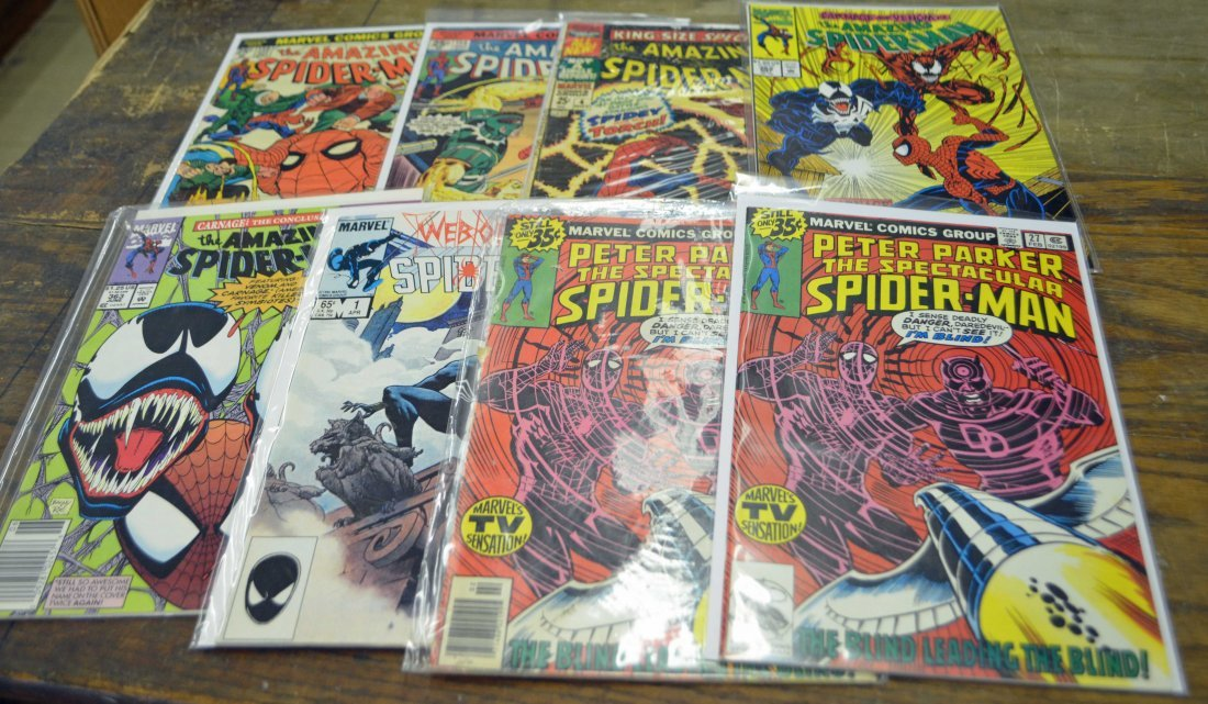 Lot of 25 Assorted Spider-Man Comics