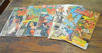 Lot of 6 Vintage DC Comics