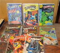 Eight Silver Age Lot of Tower Comics