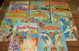 Super Friends Comic Lot 11 Bronze Era Comic Books
