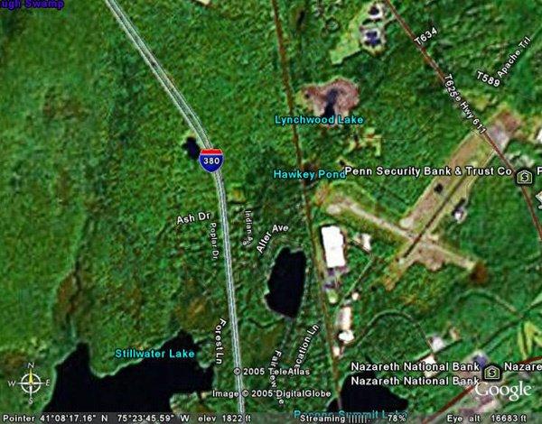 7: COOLBAUGH TOWNSHIP (MONROE CO., PA) 9,500 square fee