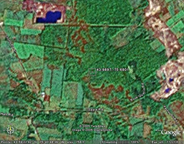 8: TOWN OF CHAMPION (JEFFERSON CO., NY) 10 acres.