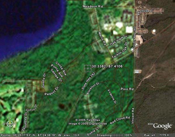 9: PENSACOLA AREA (ESCAMBIA CO., FL) 67' x 130'.
