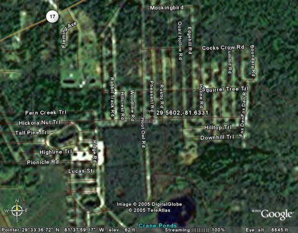 11: PALATKA AREA (PUTNAM CO., FL) 10,000 square feet.