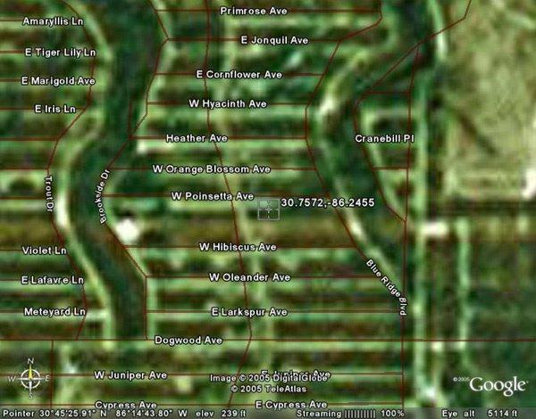14: EGLIN AIR FORCE BASE AREA (WALTON CO., FL) 29,000 s