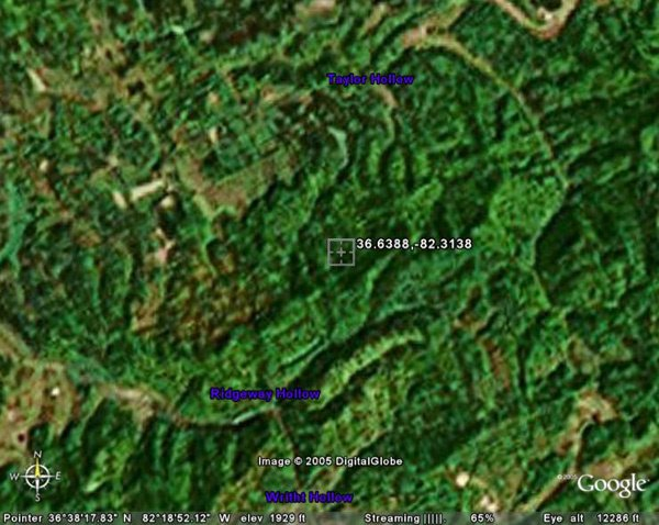 63: PULLONTOWN AREA (SCOTT CO., VA) 60 acres.