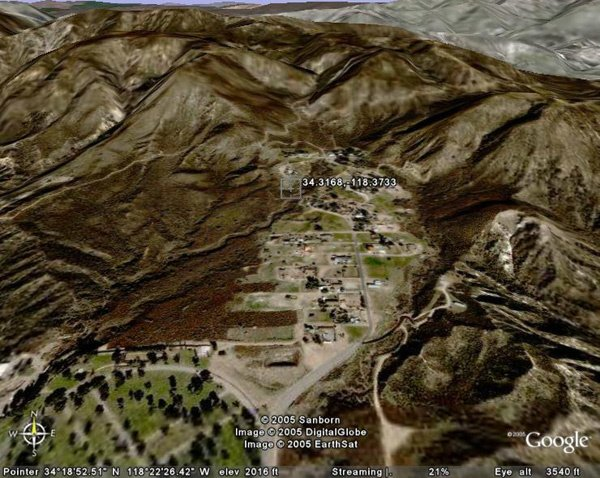 16: KAGEL CANYON AREA (LOS ANGELES CO., CA) 5,000 squar