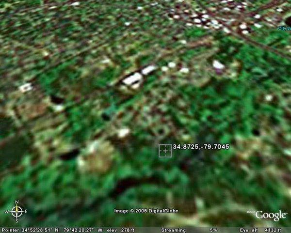 6003: MARKS CREEK TOWNSHIP (RICHMOND CO., NC) 100' x 20