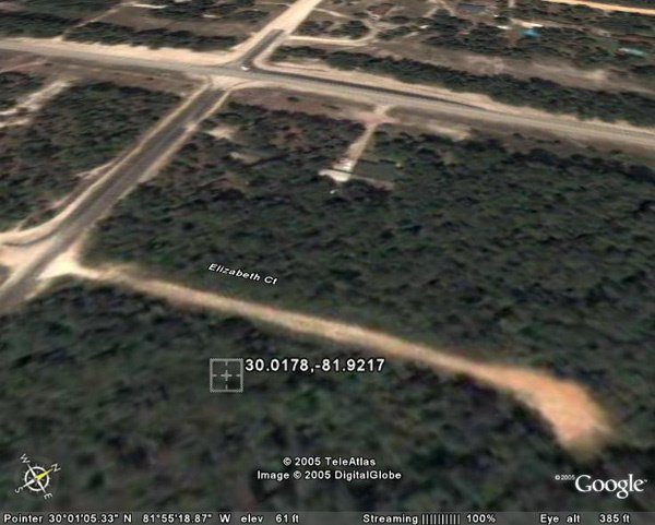 6009: MIDDLEBURG AREA (CLAY CO., FL) 150'  x 300'.