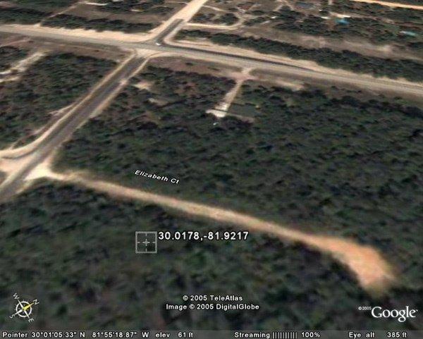 6009: MIDDLEBURG AREA (CLAY CO., FL) 150'  x 300'.