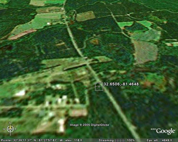 6021: SYLVANIA AREA (SCREVEN CO., GA) 3 acres.