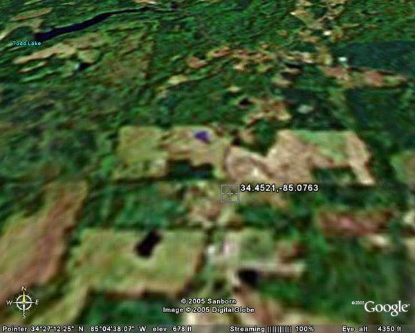 6039: ROME AREA (GORDON CO., GA) 20 acres.