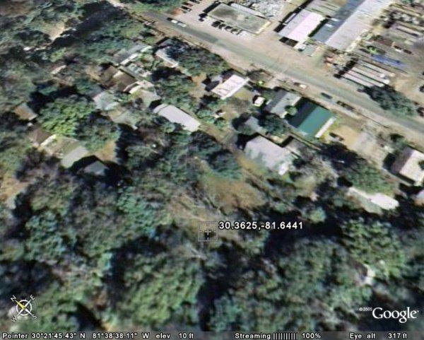 6138: CITY OF JACKSONVILLE (DUVAL CO., FL) 40' x 100'.