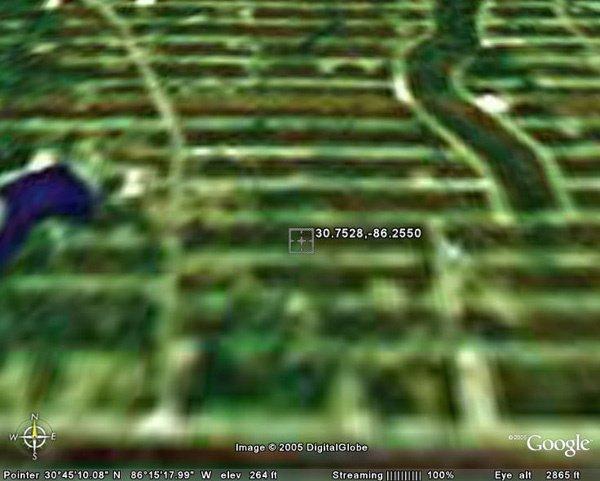 6150: EGLIN AIR FORCE BASE AREA (WALTON CO., FL) 9,583