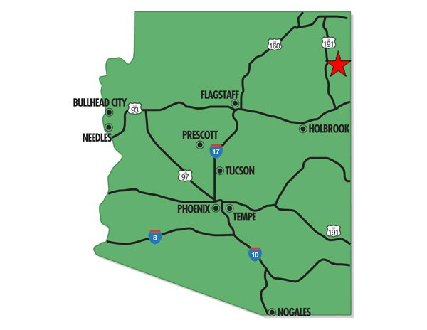 94039: 39. APACHE COUNTY (APACHE CO., AZ) 160 acres.