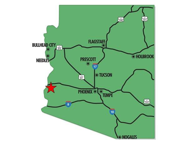 94043: 43. PARKER AREA (LA PAZ CO., AZ) 40 acres.