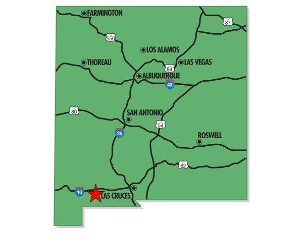 95001: 1. DEMING RANCHETTES (LUNA CO., NM) 4 lots.