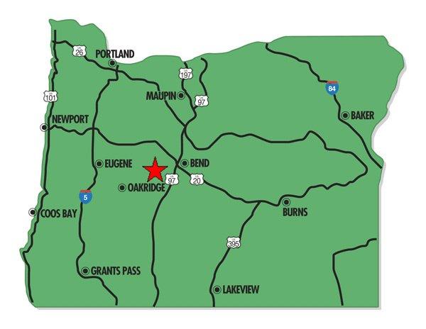 95002: 2. MILLICAN AREA (DESCHUTES CO., OR) 5 acres.